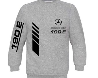 Mercedes 190E sweatshirt Mercedes sweater Mercedes Benz hoodie Mercedes amg hooded mercedes  hooded polar shirt