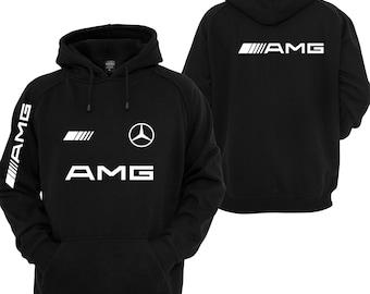Mercedes AMG sweatshirt hoodie, Mercedes sweater, Mercedes Benz hoodie, Mercedes amg hooded, mercedes hooded polar shirt