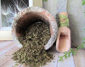 Peppermint leaf, Peppermint Tea, Organic peppermint leaf, dried herb, herbal tea