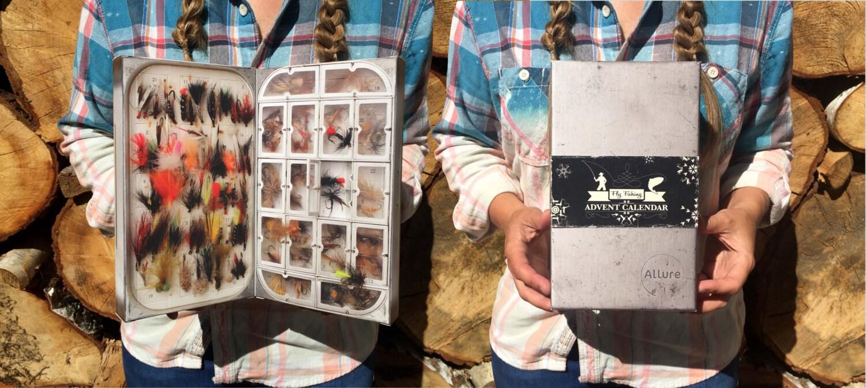 Adventskalender für Fliegenfischen-Enthusiasten | Etsy