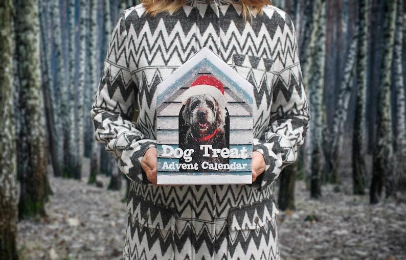 63887decbbc Dog Treat Advent Calendar   Etsy