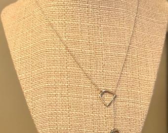 Horse Hoof pendant necklace
