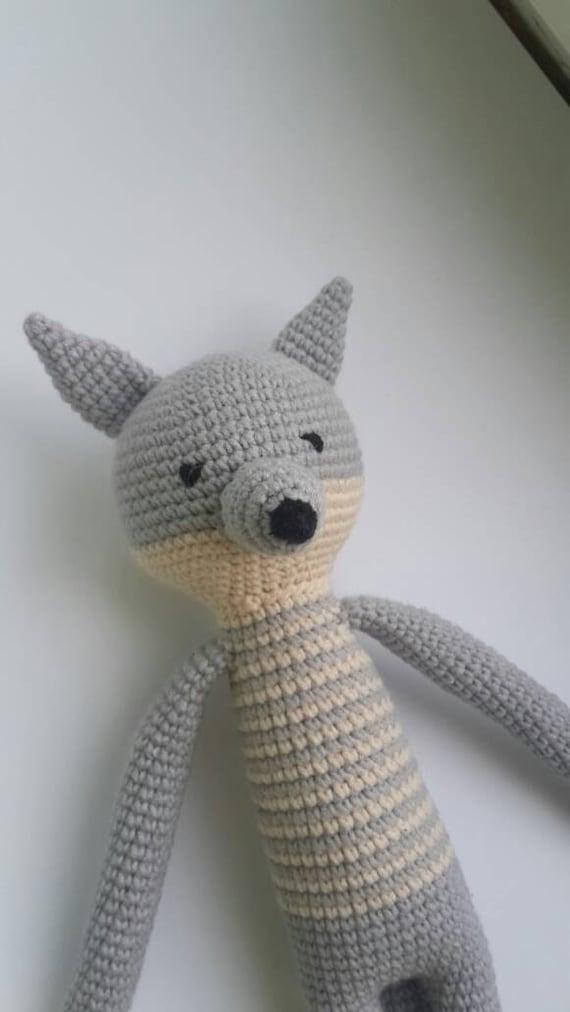 Häkeln Wolf / Amigurumi Wolf / handgemachte wolf / Crochet   Etsy