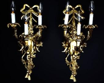 Paire applique barovier toso murano moderniste mid century verre