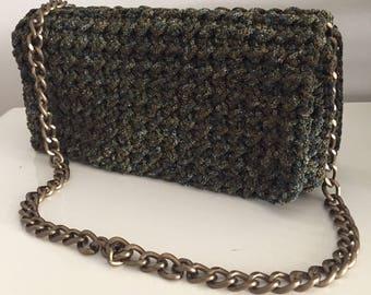 Crochet chain bag