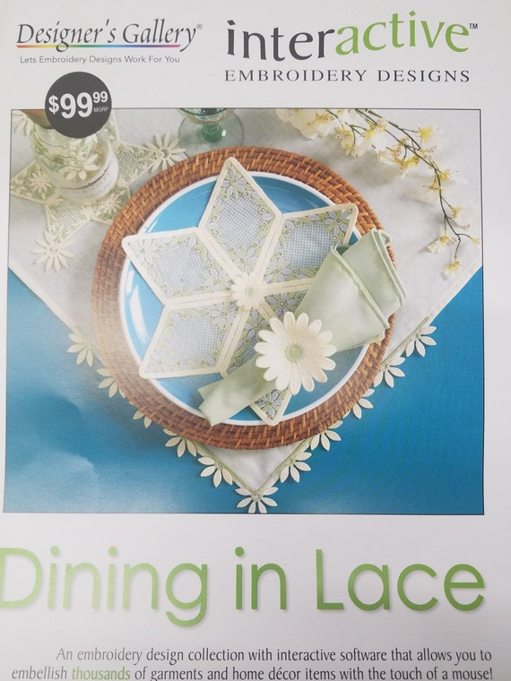 Designer S Gallery Dining In Lace Etsy