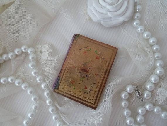 Nadeletui Nadelmappe Nadelheft Antik 19 Jhdt Edwardian Style Gravur Emaille Vintage Style Geburtstag Hochzeit