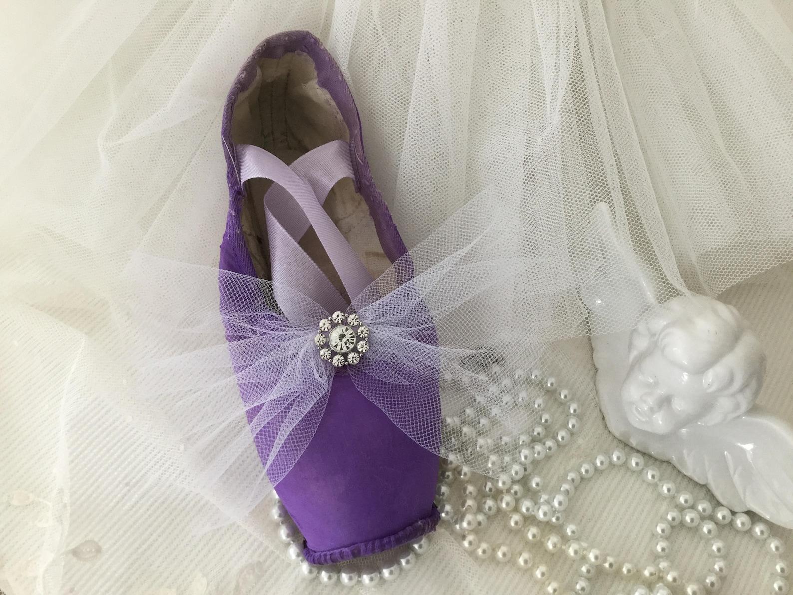 vintage ballet shoe lace shoe brocante rhinestones tulle edwardian style viktorian style coeursdecaschel