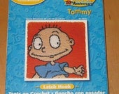 Caron J P Coats Rugrats 10th Anniversary Tommy Latch Hook Needlepoint Kit 24 X 24 Pillow Rug Wall hanging Sealed New
