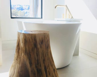 Tree Stump Side Table bu Fixture Studio - shipping not included