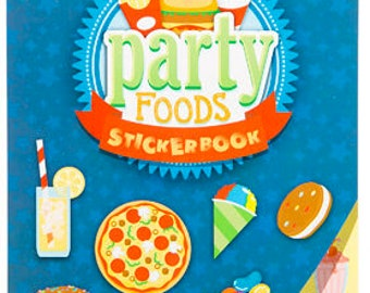 Party Foods Sticker Book, 366 Stickers!