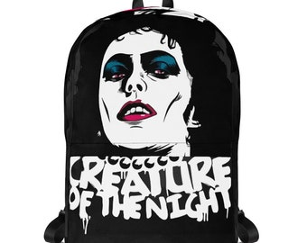 Rocky Horror Picture Show Backpack Laptop Bag Travel Backpack Black backpack Men Boys Waterproof  Goth Style