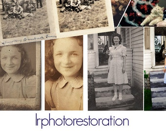 Photo Restoration Prints
