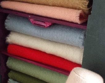 Vintage Wool Doll Blanket
