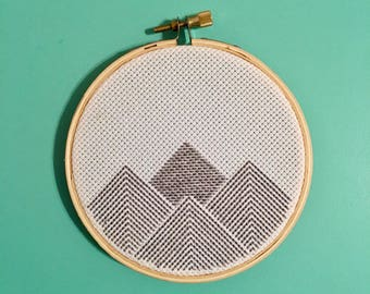 Cross Stitch Mountains