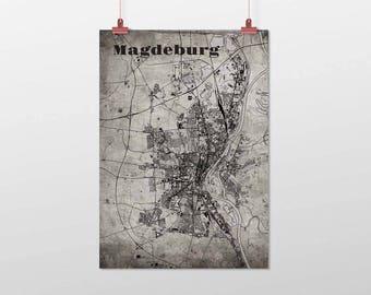 Magdeburg - A4 / A3 - print - OldSchool
