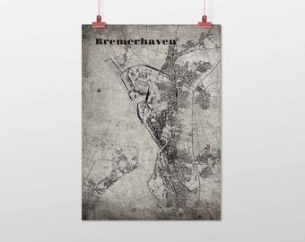 Bremerhaven - A4 / A3 - print - OldSchool
