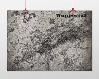 Wuppertal - A4 / A3 - print - OldSchool