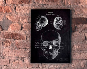 The Scull No. 3-Patent-style-A4/A3 Print