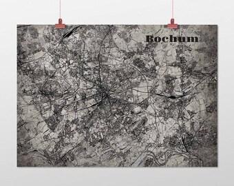 Bochum - A4 / A3 - print - OldSchool
