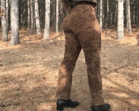 1990's Printed Pants - image 1