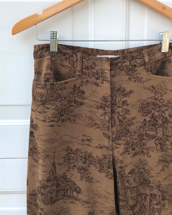 1990's Printed Pants - image 5