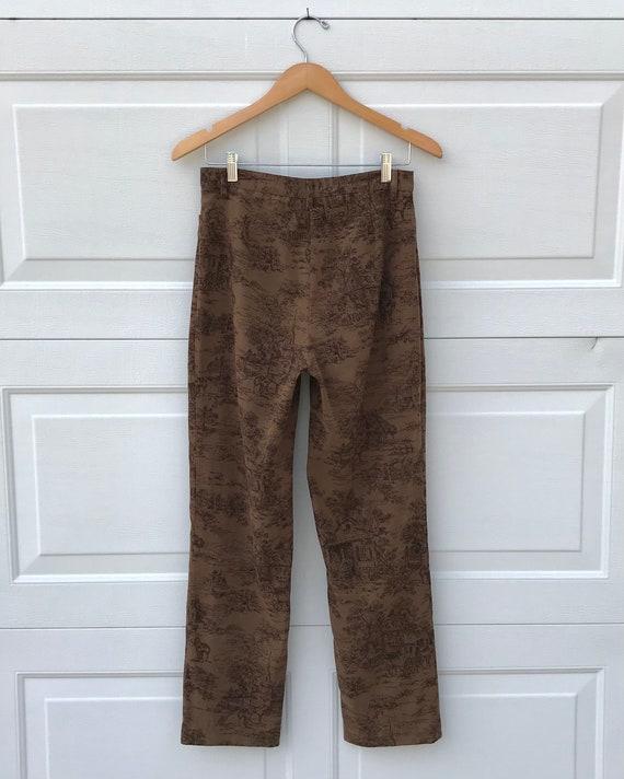 1990's Printed Pants - image 6