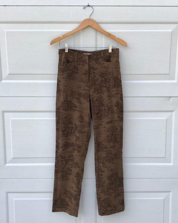 1990's Printed Pants - image 4