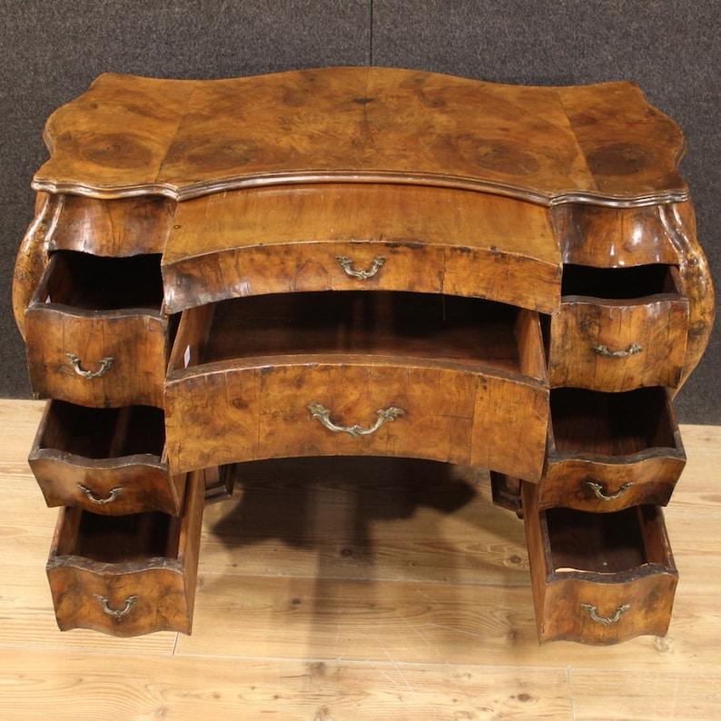 Schreibtisch Holz Antik 2021