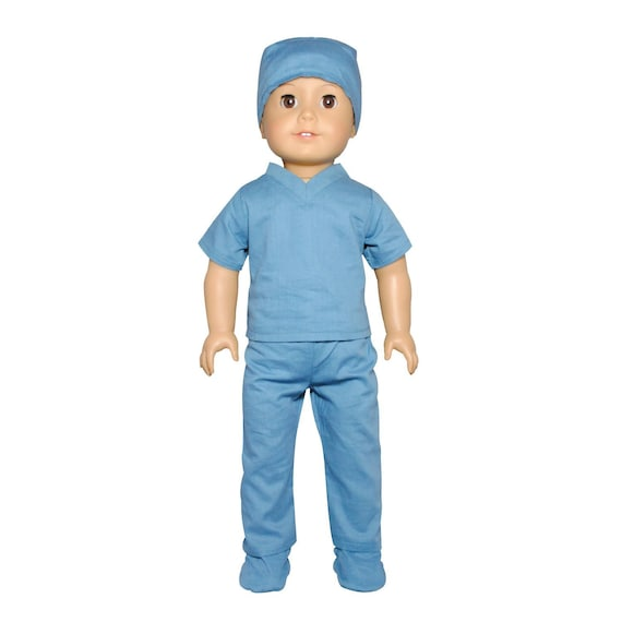 Doll Doctor Nurse Clothing Clothes Outfit Set for 18 inch Our Generation My Life