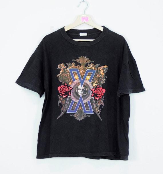 Vintage Devilock Syndrome T Shirt Brand Shirt Music Band Hairstyle Unisex Clothing Adult Medium Size EzS6rZu