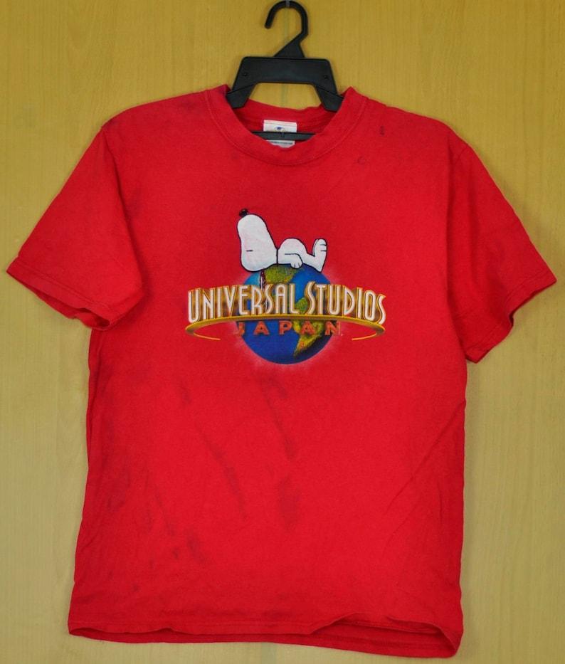 9fb30700 Vintage universal Studio T Shirt Snoopy Shirt Japan Charlie | Etsy