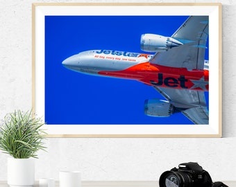 3 Panel Canvas Picture Print Airplane Engine and propeller bw 3.2
