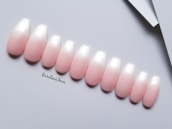 Baby Boomer Nails French Nails Ombre - lovely nails design