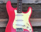 Fender Stratocaster - Fiesta Red - Relic.