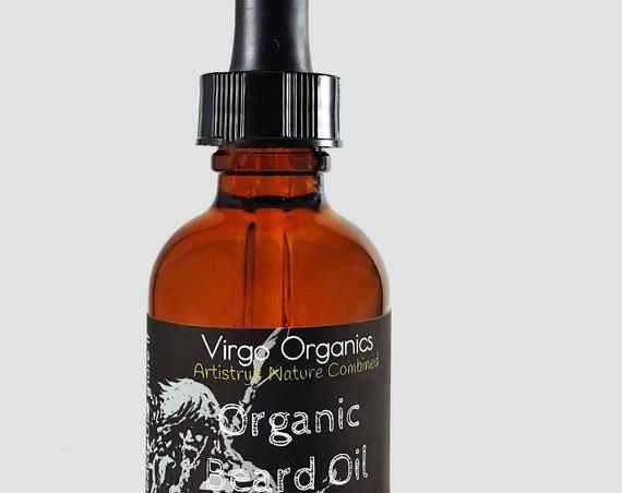Organic Beard Oil ~ For the Viking in EVERY Man! / Itch Free ~ NO breakouts / Vegan / Gluten Free / No DHT blockers