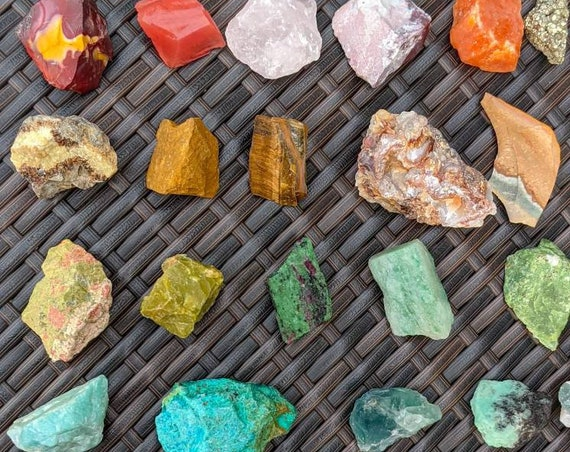 Raw Stone / You Pick! / Raw Stone Chunks / Ethically Sourced Crystals / High Quality / Rough Stones / Raw Crystal /  Many Different Choices!