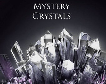 Mystery Grab Bag! Mystery Box of Crystals, Candles, Aromatherapy, Salenite, Palo Santo, Towers, Jewelry, Spheres, Clusters, & Special Gifts!