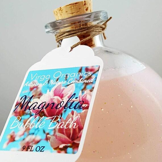 Magnolia Bubble Bath! / Gluten Free / Organic / Healthy Bubbles!
