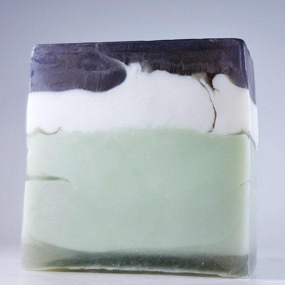 Men's Shaving Soap / Great Lather & Slip / Bringing Sexy Back / Organic Oils / Phthalate Free / Gluten Free / Vegan / Soy Free / Soft Skin