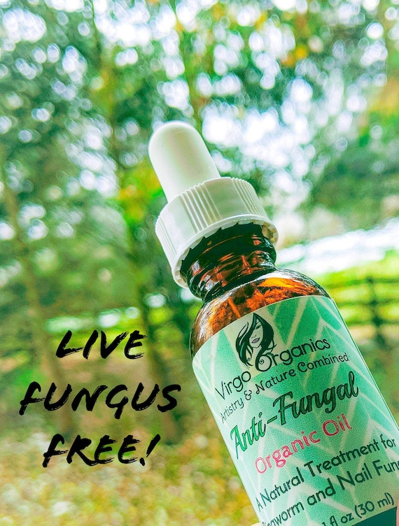 Organic Anti-Fungal Treatment- For Nails, Ringworm, Candidia Skin Rash, Athlete's feet, & Jock Itch