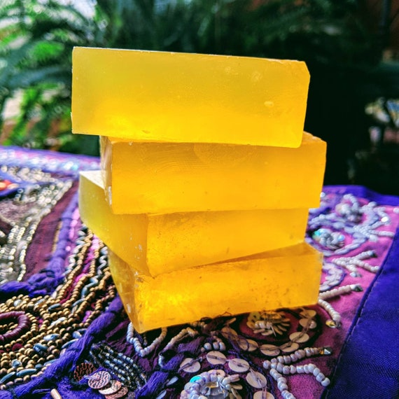 Kojic Acid & Turmeric Soap /  Organic Oils / Gluten Free / Vegan / Soy Free / Facial and Body Bar / For a Beautiful Complexion!