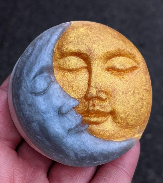 Sun & Moon Soap / Star Crossed Lovers - Organic Oils / Gluten Free / Vegan / Soy Free / Uncented Available / Skin Loving Artisan Soap Bars