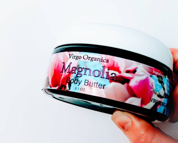 Magnolia ~ Organic Body Butter / Gluten Free / Vegan / Nourishing Oils