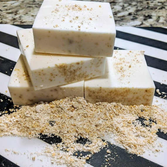 Oatmeal, Goats Milk, & Honey / Super Soft Skin / For Sensitive Skin / Gluten Free / Organic!