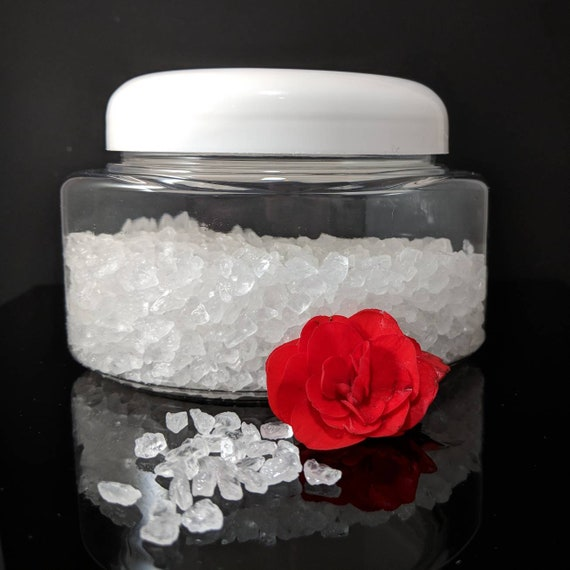 Scented Sea Salt Crystals / Crystal Potpourri / Comes with Scent Refill!