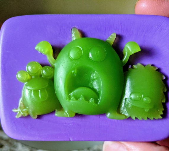 Monster Soap! / Organic Oils / Phthalate Free / Gluten Free / Vegan / Many Scents & Colors to Choose / Unscented Available / SO MUCH FUN!