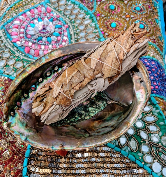 Yerba Santa & White Sage Smudge Sticks / Wild Crafted / Cleansing / Protection