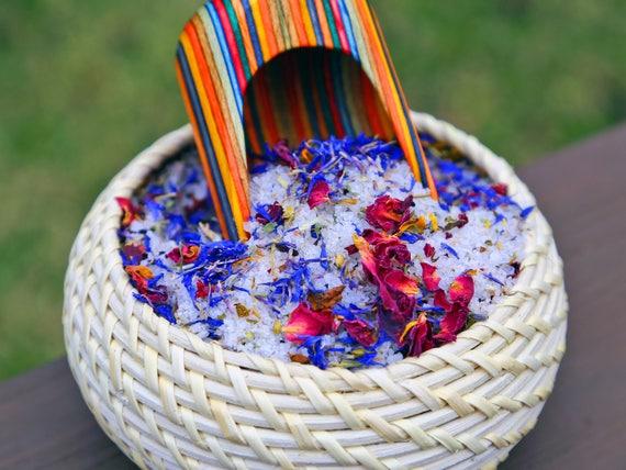 Organic Herbal Bath Tea (*2 PACK) by Virgo Organics / 5.5 oz / Healing / AROMATHERAPY / Lavender / Gluten Free / VEGAN