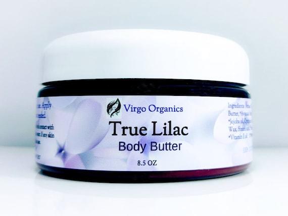 True Lilac ~ Organic Body Butter / Gluten Free / Vegan / Moisturizing / So Soft